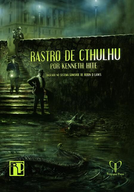 capa do Rastro de Cthulhu da Retropunk
