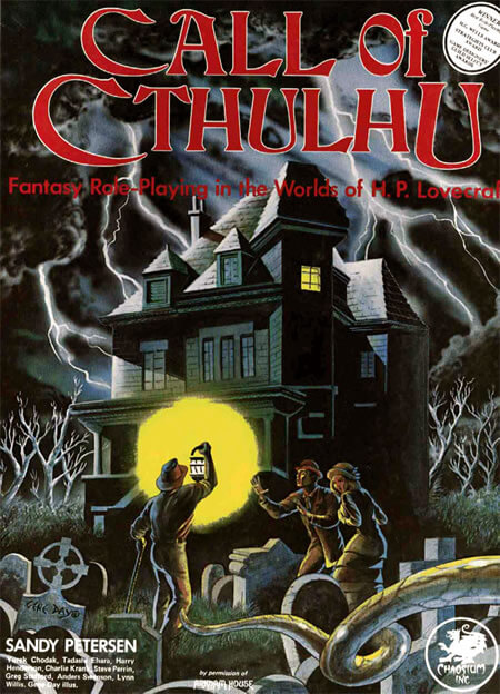 Capa de Call of Cthulhu 1ª Edição