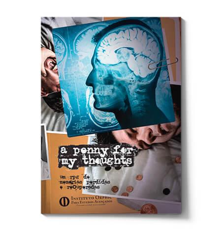 Capa da edição nacional de A Penny for My Thoughts