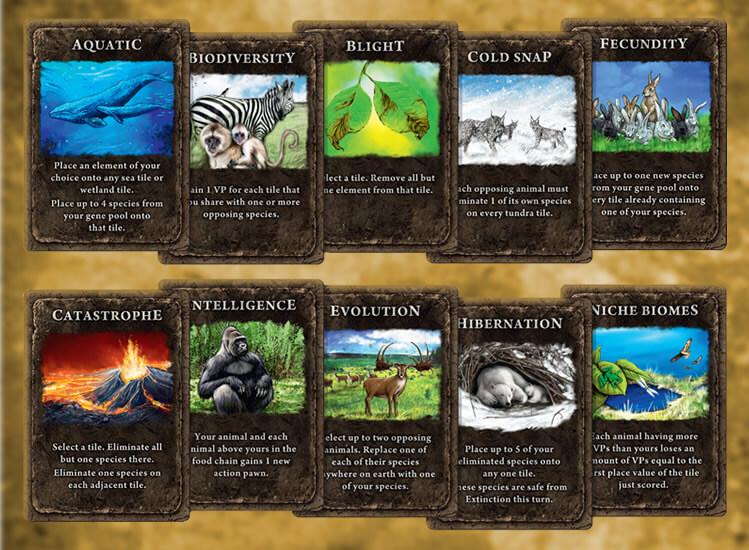As famigeradas cartas do jogo