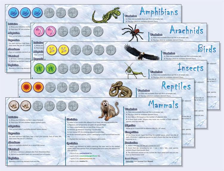 Dominant Species - As Fichas do Jogo